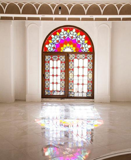 طراحی و چیدمان خانه,نحوه پوشاندن قاب پنجره ها