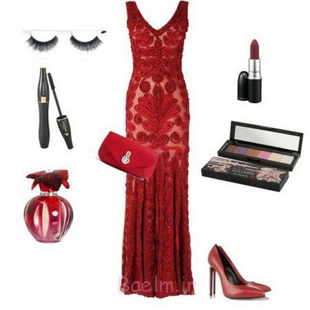 ست لباس قرمز روز روز عشق,مدل لباس روز عشق