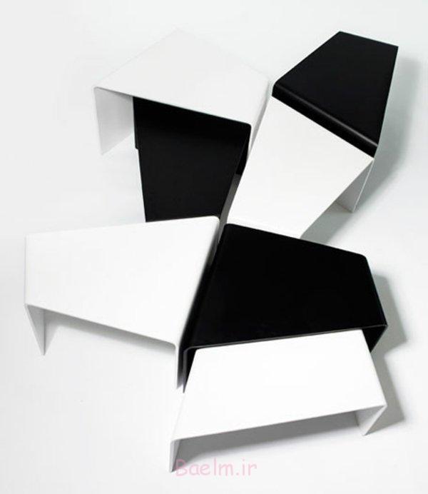 tische schwarz weiß moderne