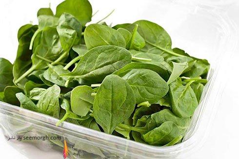سبزیجات بسته بندی معمولاً کاملاً شسته می شوند!!!