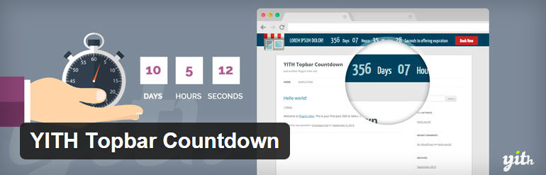 YITH Topbar Countdown — WordPress Plugins2