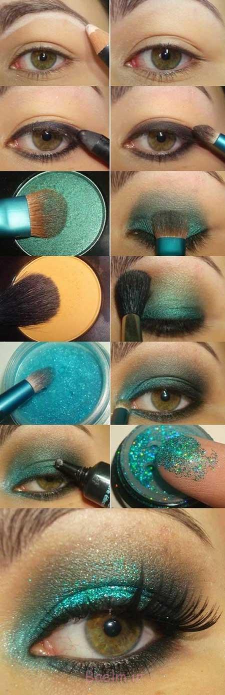 آرایش چشم سبز آرایش چشم, آرایش چشم عروس, آرایش چشم درشت, آرایش چشم ریز, آرایش چشم مشکی, آرایش چشم ساده, آرایش چشم دخترانه, آرایش چشم پف دار,