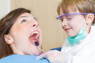 دندان درد کودک,علت درد کودک