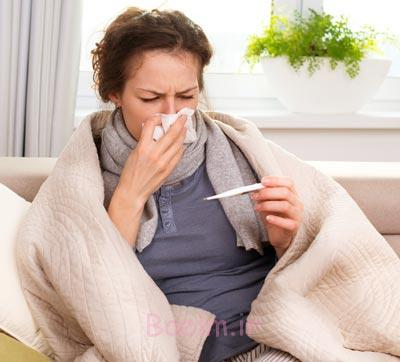 آنفلوانزا در بارداری,سرماخوردگی در بارداری