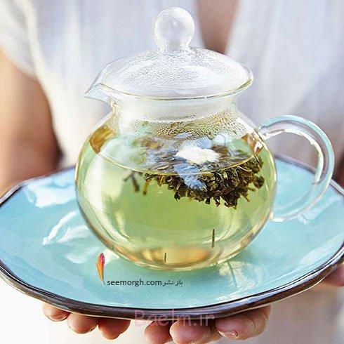 3.چای سبز: