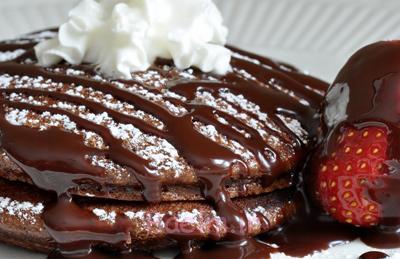 درست کردن پنکیک شکلات و دارچین,طرز تهیه انواع پنکیک