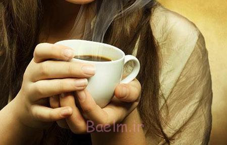 علائم تغییرات هورمونی در زنان,نشانه های تغییرات هورمونی در زنان,نوشیدن قهوه