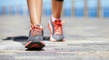 پیاده روی,راههای تسکین درد گرفتگی عضله,فواید پیاده روی