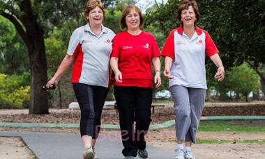 پیاده روی, فواید پیاده روی,راههای تسکین درد گرفتگی عضله