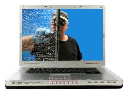 نحوه تمیز کردن کیبورد لپ تاپ, تمیز کردن کامپیوتر