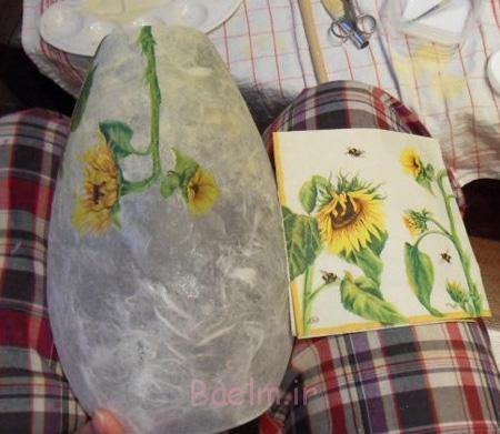 آموزش دکوپاژ روی گلدان, دکوپاژ گلدان
