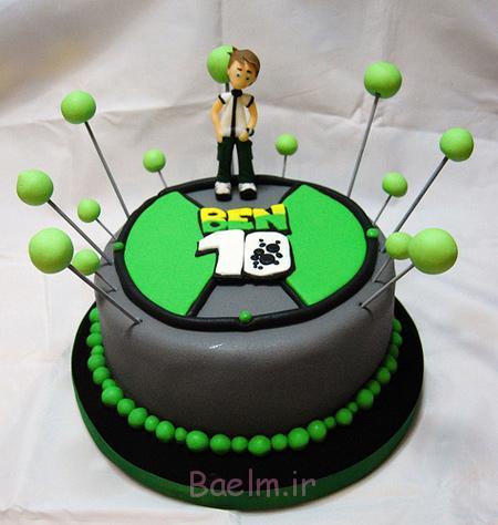کیک تولد پسرانه, کیک تولد بن تن کیک تولد کارتونی, عکس کیک تولد کارتونی, مدل کیک تولد کارتونی, عکس های کیک تولد کارتونی
