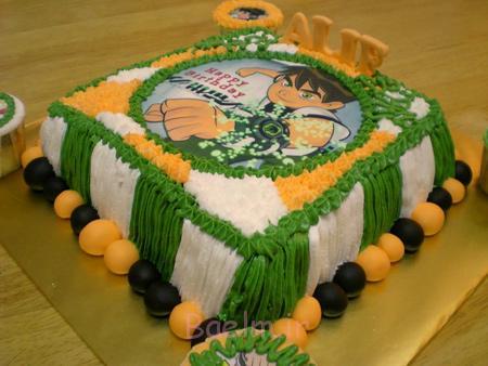 کیک تولد با تم BEN10, کیک های تولد پسرانه با تم BEN10