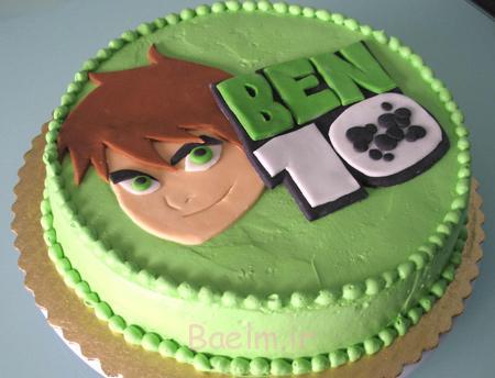 مدل های تزیین کیک, کیک تولد با تم BEN10