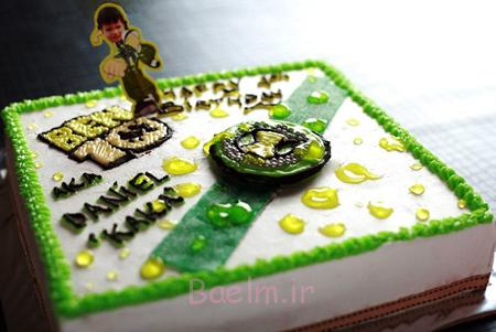 کیک های تولد پسرانه با تم BEN10,کیک تولد پسرانه