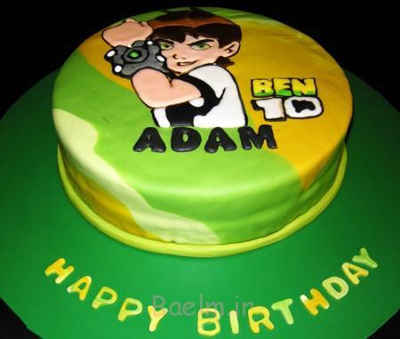 کیک تولد پسرانه, کیک تولد بن تن