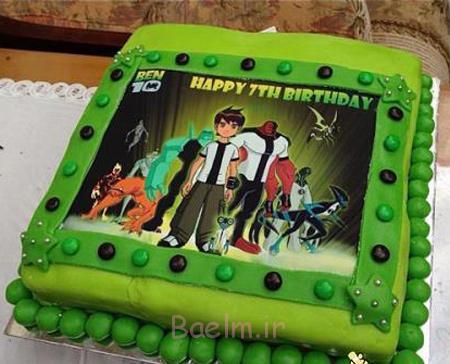 مدل تزیین کیک, مدل های تزیین کیک