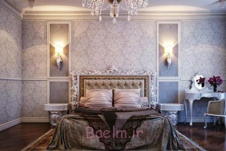 مدل اتاق خواب های سلطنتی, دکوراسیون مدرن اتاق خواب