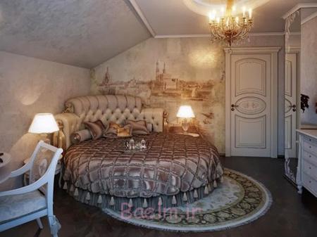 دکوراسیون اتاق خواب رمانتیک, مدل اتاق خواب های سلطنتی