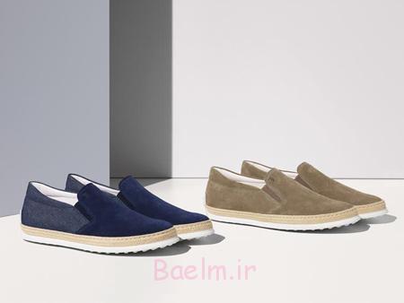 کفش مشکی مردانه,مدل کفش مردانه برند TODS