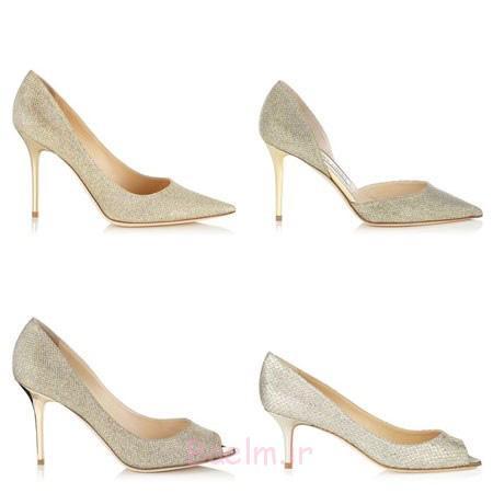 جدیدترین صندل های عروس,جدیدترین مدل کفش عروس