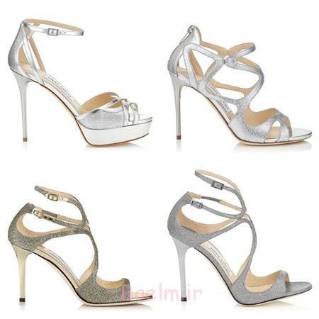 کفش های عروس جیمی چو,شیک ترین مدل کفش عروس