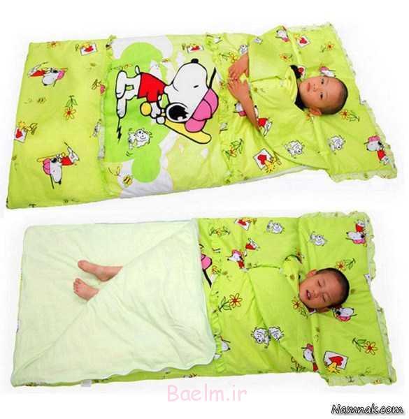 زیباترین کیسه خواب ، وسایل خواب بچه ، لوازم خواب بچه