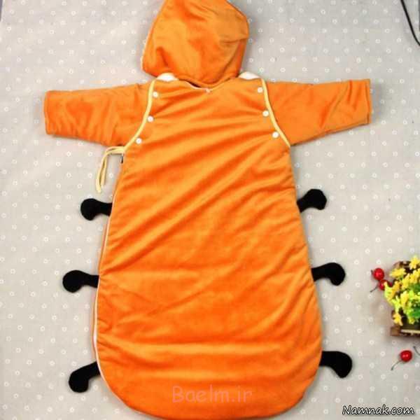 کیسه خواب نوزادی ، جدیدترین دورپیچ نوزاد ، قنداق فرنگی نوزاد