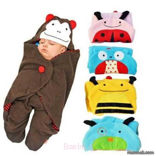 کیسه خواب و دورپیچ ، کیسه خواب نوزاد ، مدل کیسه خواب نوزاد