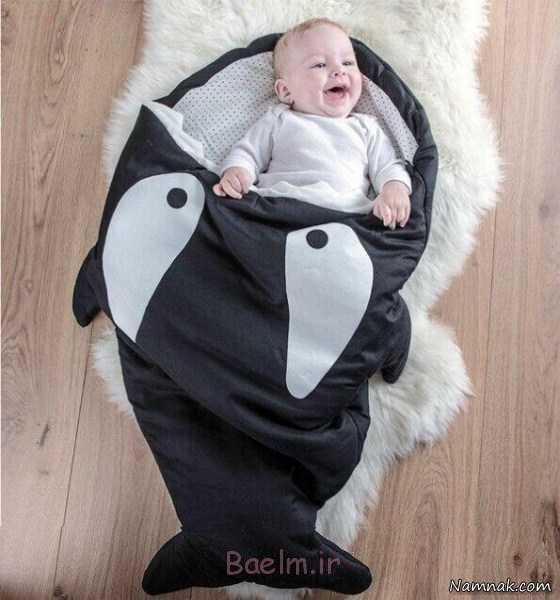 کیسه خواب و قنداق فرنگی ، کیسه خواب نوزاد ، مدل کیسه خواب نوزاد