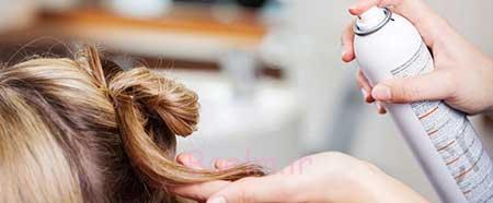 انواع اسپریهای مو،کارکردهای اسپری مو