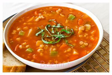 سوپ جو,طرز تهیه سوپ جو,پخت سوپ جو