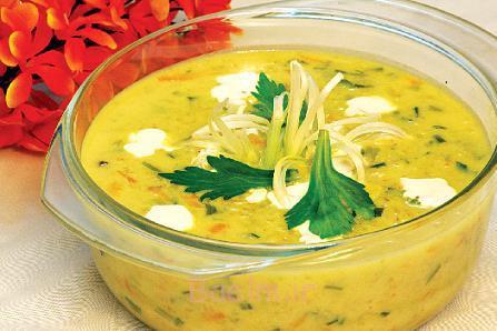 پخت سوپ جو,سوپ جو با شیر,طرز تهیه سوپ جو