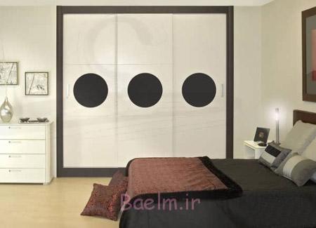 انواع کمد دیواری اتاق خواب,عکس کمد دیواری اتاق خواب,کمد دیواری اتاق خواب