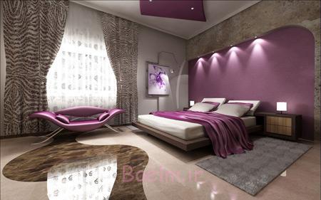 دیزاین اتاق خواب دخترانه,جدیدترین دیزاین اتاق خواب,دیزاین اتاق خواب