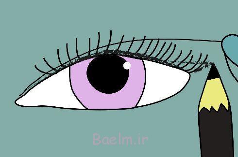 خط چشم گربهای