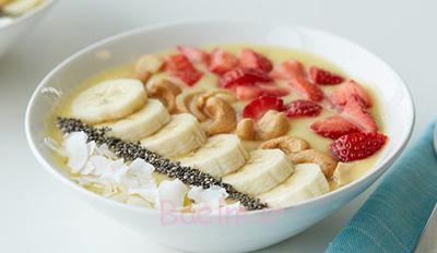 تهیه اسموتی آناناس و انبه,مواد لازم برای اسموتی آناناس و انبه