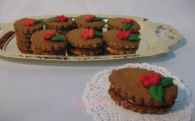 پخت شیرینی نسکافه و گردو,شیرینی خشک برای عید