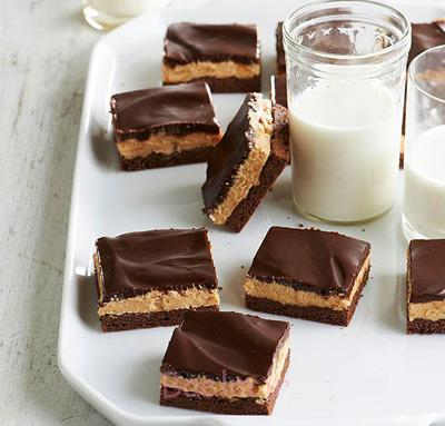 درست کردن کیک شکلاتی و کره بادام زمینی,طرز تهیه کیک های عید نوروز