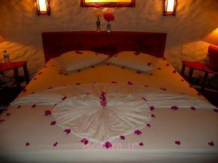 مدل تزیین اتاق خواب عروس,تزیین اتاق خواب عروس