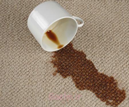 پاک کردن انواع لکه از روی فرش, پاک کردن لکه ها از فرش