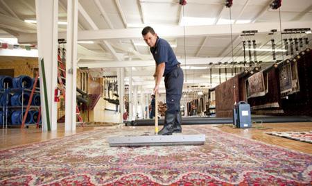 مراحل شستشوی فرش,روش های خشک کردن فرش
