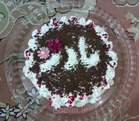 عکس کیک روز مادر, تزیین کیک روز مادر