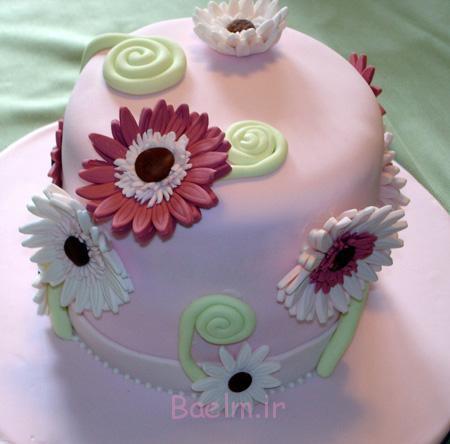 تزیینات کیک روز مادر, ساده ترین کیک روز مادر