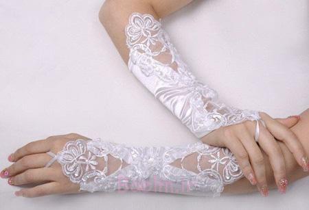 مدل دستکش عروس,دستکش عروس