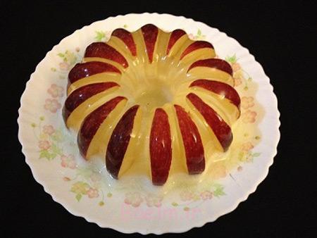 عکس تزیین ژله با میوه,تزیین ژله با میوه ها,دسر ژله با میوه