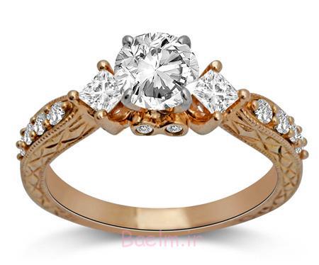 حلقه های شیک زنانه حلقه عروسی ست, حلقه عروسی جدید, حلقه عروسی, حلقه عروس و داماد,