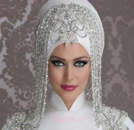 تورعروس دانتل, مدل تاج و شیفون عروس