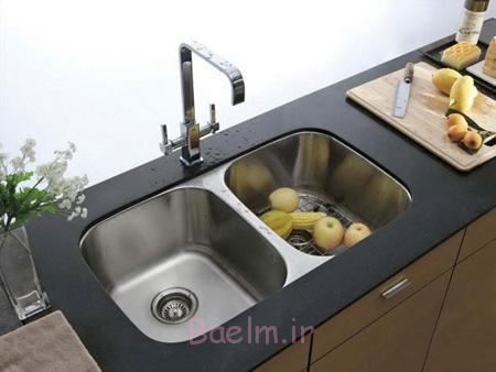 مدل های جدید سینک برای آشپزخانه های شیک,مدل های جدید سینک برای آشپزخانه