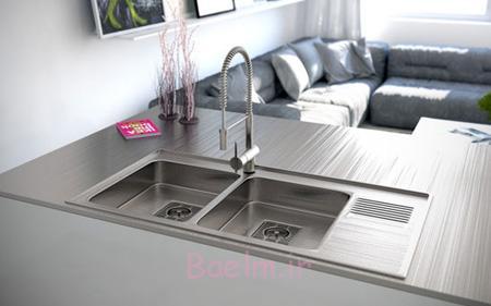 مدل های جدید سینک برای آشپزخانه,جدیدترین مدل سینک آشپزخانه
